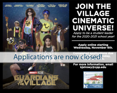 Join the Village Cinematic Universe Banner